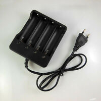4 Slots 18650 Li-ion Battery EU Plug AC amiable Power Supply Rechargeable