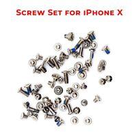 Para Apple IPHONE X Completo Juego Tornillos Con Exterior Pentalobe Tornillo