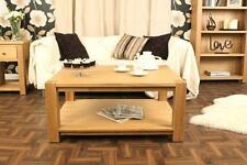 Less than 60cm High Oak Contemporary Coffee Tables
