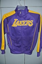 Los Angeles Lakers 1980's Warmup Youth Medium Majestic Hardwood Classics/Nice
