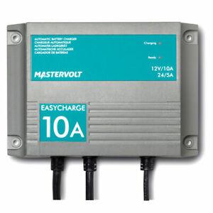 Mastervolt EasyCharge 12V 24V Waterproof Battery Charger IP68 EU Plug Boat Auto