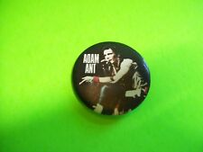 Adam Ant Artist On Stage Original Metal Badge Pinback New Wave Adam And The Ants
