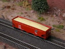 Hay Brothers WOODCHIPS LOAD - Fits BLUFORD SHOPS Offset-Side Hopper Cars