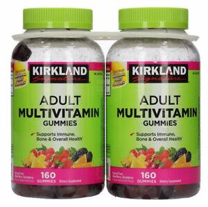 KIRKLAND ADULT MULTIVITAMIN FRUIT FLAVOR GUMMIES