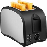 2 Slice Toaster CUSIBOX Wide Slot Toaster 2 Slice Best Rated Prime ST001