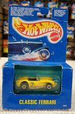 Hot wheels 1990 Classic Ferrari collector #5665, Yellow German Edition