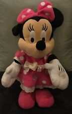 "UNAVAILABLE IN UK RARE MINI MOUSE PLUSH SINGING ""HOT DOG"""