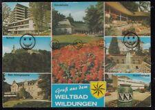 972O)  AK   Bad Wildungen     Gruß aus  Weltbad Wildungen        Hessen