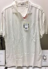Monterey Club Golf Polo Shirt Women Size Xl Nwt Bamboo Cotton Blend Short Sleeve