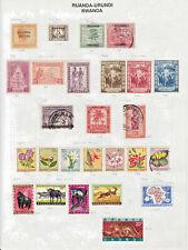 Rwanda collection, old & new - see description