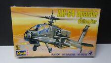 Revell 1:48 AH-64 Apache Helicopter Skill Level 2 Plastic Model Kit #5443