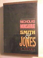 Smith & Jones by Nicholas Monsarrat 1963 Hardcover Good Condition