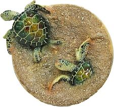 """6"""" Glazed Turtle Table Top Plate YX6125"""