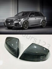 Audi Q7/SQ7 (4M) Carbon Fibre Effect Wing Mirror Covers Set High Quality 2015+