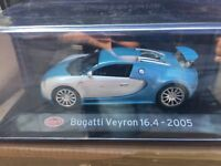"DIE CAST "" BUGATTI VEYRON 16.4 - 2005 "" SUPER CAR SCALA 1/43"