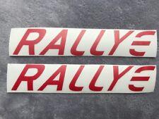 Peugeot 106  Rallye 2, Stickers Decal RALLYE