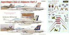 NEW Yellowhammer Decals 48034 1:48 Boeing F/A-18F Super Hornet Superbugs CAGs