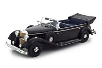 Scale model car 1:18 MERCEDES-BENZ 770 (W150) Convertible 1938 Black