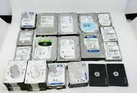 Lot of 34 HP, WD, Seagate, Samsung Laptop/PC Hard Drive - NOT WORKING™