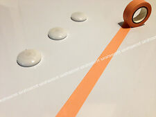Japanese Washi Tape 15mmx10m Plain Neon Tan Solid Colour #W1764