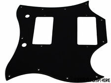 * NEW Black PICKGUARD for USA Gibson SG Standard Guitar 1 Ply 11 Hole