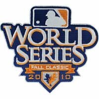2010 World Series Jersey Patch Texas Rangers San Francisco Giants White Border