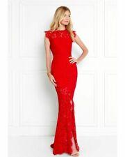 Rachel Zoe Estelle Lace dress red vestido de noche vestido de encaje rojo blogueros SZ 2 UE s