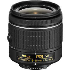 New Nikon AF-P 18-55mm F3.5-5.6  DX VR Zoom Lens work with D5500 D5300 D3300*au