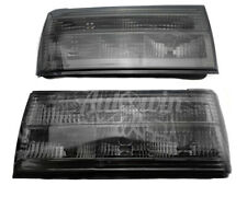 BMW 3 Series E30 FL Black Rear Taillights Set Right and Left Side Lamp NEW