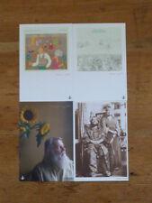 Robert Wyatt: (4) Japan Promo Postcard (no cd japan mini-lp soft machine Q