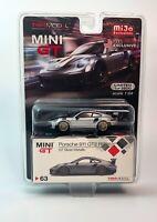 "MINI GT TSM Model Porsche 911 GT2 RS (LHD) Mijo Ex. 1/64 ""Ltd"" 1/3600 Metallic"