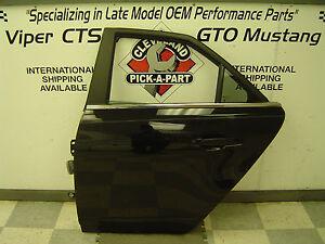 2008-2014 Cadillac CTS CTS-V OEM LH Left Driver Side Rear Door Assembly Black