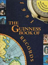 THE GUINNESS BOOK OF  RECORDS - 1991 edition with Australian Supplement