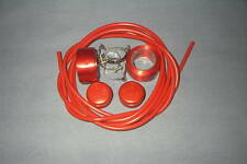 BENOTTO RED TAPE AND CINELLI END PLUGS COMPLETE WITH CABLE AND CLIPS 1980'S NOS