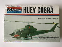 Rare Vintage Monogram 1/72 Scale Huey Cobra Model Kit Airplane No.5000-0103 (83)