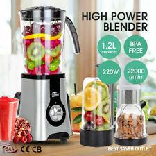 Multi standmixer Smoothie Maker Milchshake Küchenmaschine 1.25L Obstmischer Mühl