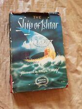 1924 Ship of Ishtar A Merritt & Virgil Finlay Illustrations 1st Edition Book