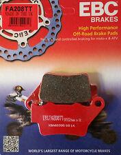 EBC/FA208TT Brake Pads (Rear) - Yamaha XT660Z Tenere 08-16, KTM 690 Enduro