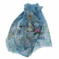 Beatrix Potter Peter Rabbit Scarf - Traditional Polyester Fashion Scarf