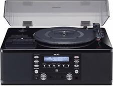 Teac Lpr660Usbpb Lp-Cassette to Cd Recorder/Usb Turntable, Black