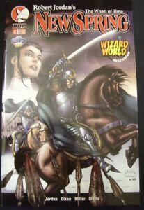 WHEEL OF TIME NEW SPRING X DDP WIZARD WORLD EXCLUSIVE COMIC JORDAN 2004 VF/NM