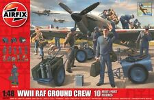 Airfix A04702 - WW2 R.A.F. Ground Crew                      1:48 Plastic Figures