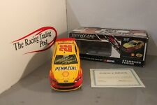 2017 Action Joey Logano Shell Pennzoil 1/24 Autographed
