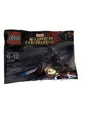 LEGO Captain America's Motorcycle 30447 Minifigure polybag RARE1