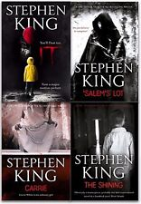Stephen Kings Collection 4 Books Set Salem's Lot and Shining Carri Paperback NEW