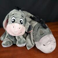 """Disney Parks 24"""" Sleeping & Big Foot Feet Eeyore Dream Friends Plush Pillow Doll"""