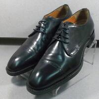 152665 PF50 Men's Shoes Size 12 M Black Leather Lace Up Johnston & Murphy
