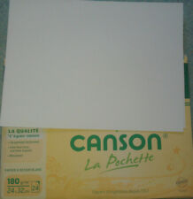 2 feuilles de papier dessin format 24 x 32 cm