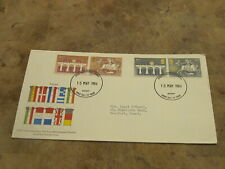 1984 GB First Day Cover - 2nd European Elections - Gwent frank