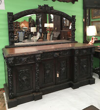 antique buffet with mirror Mirror Antique Sideboards & Buffets for sale | eBay antique buffet with mirror